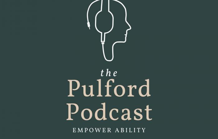 this image shows the logo of the Pulford Podcast